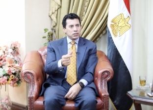 حوار وزير الرياضة