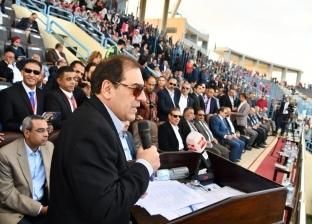 وزير البترول يشهد فعاليات ختام الدورة الرياضية الأولى