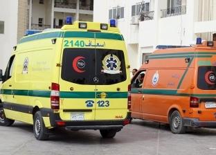 بالأسماء| ارتفاع عدد المصابين في حادث ميت غمر إلى 8 أشخاص