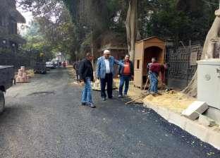 رئيس حي الدقي: رفع كفاءة شارع عبدالرحيم صبري ورصفه