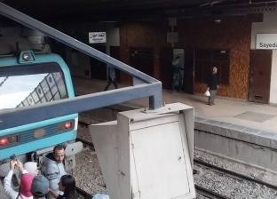 بالفيديو| انتحار شاب في محطة مترو ماري جرجس