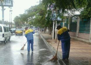 """""""الأرصاد"""": استمرار سقوط الأمطار على السواحل الشمالية غدا"""
