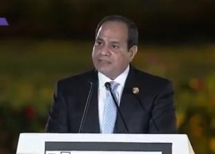 السيسي: شباب مصر أصبحوا الرقم الأهم في بناء الوطن ومواجهة التحديات