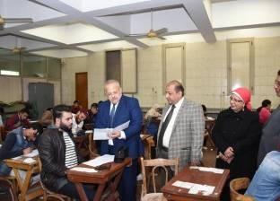 """""""الخشت""""يتفقد سير امتحانات """"الترمالأول"""" بكليات جامعة القاهرة"""