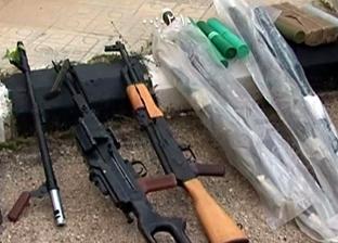 العثور على أسلحة وذخيرة وأدوية إسرائيلية من مخلفات الإرهابيين في سوريا