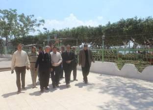 بالصور| رئيس مدينة دسوق يتفقد استعداد حديقة الأسرة والطفولة لشم النسيم