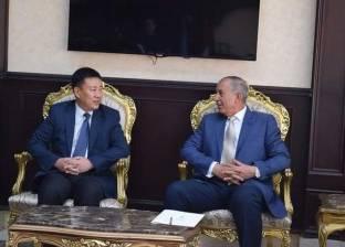 """وفد """"شؤونالقنصلية الصينية""""يبحث تنشيط السياحة بالبحر الأحمر"""