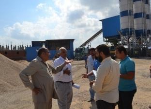 بالصور| رئيس مدينة بلطيم يوقف نشاط شركة صناعية لمخالفتها شروط السلامة