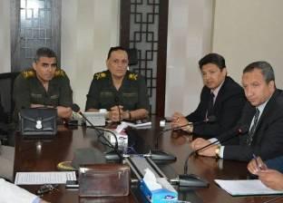 """""""دمياط"""" تعقد اجتماعا تنسيقيا مع إدارة الخدمات الطبية بالقوات المسلحة"""