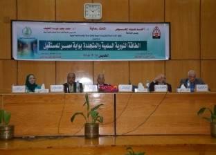 """""""الطاقة النووية السلمية والمتجددة"""" ندوة في جامعة أسيوط"""