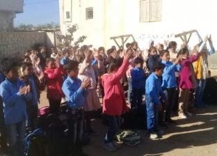 """استجابة لـ""""الوطن"""".. """"شوشة"""" يكرم مواطن حول منزله لمدرسة لتعليم الطلاب"""