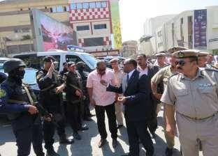 تحرير 278 مخالفة مرافق وإشغالات و67 قضية تموينية في حملة بالغربية