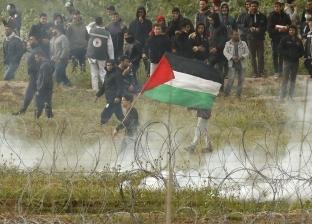 """74 إصابة برصاص الاحتلال بجمعة """"حرق العلم الصهيوني"""" في غزة"""