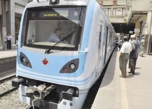 المترو: تخفيض سرعة قطارات الخطين الأول والثاني اليوم بسبب الحر الشديد