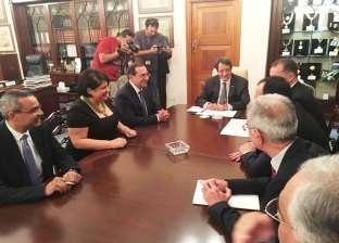 الرئيس القبرصي يستقبل وزير البترول لبحث تعزيز التعاون بين البلدين