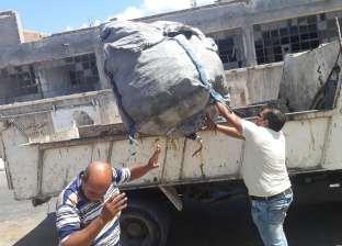 شرطة المرافق تطارد نباشي القمامة في الإسكندرية