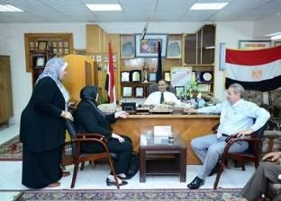 """""""أبوالغيط"""" و""""حلاوة"""" يبحثان دور منظمات المجتمع المدني في دعم التعليم بالبحيرة"""