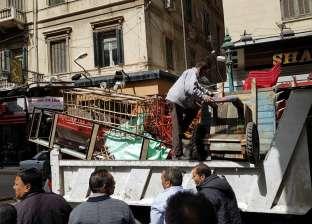 حملات مكثفة بوسط الإسكندرية لرفع التعديات والإشغالات
