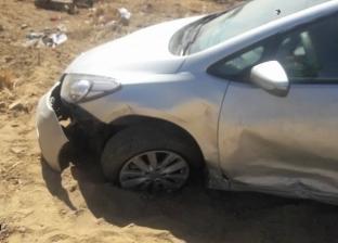بالأسماء| إصابة 10 مواطنين إثر انقلاب حافلة ركاب في كفر الشيخ