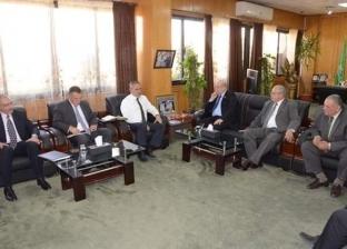 محافظ الإسماعيلية يستقبل رئيس الشركة المصرية لنقل وتوصيل الغاز