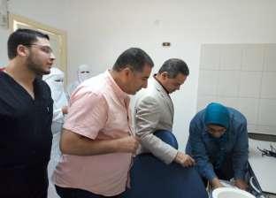 افتتاح وحدة طب أسنان متكاملة بمستشفى الأطفال في مطروح