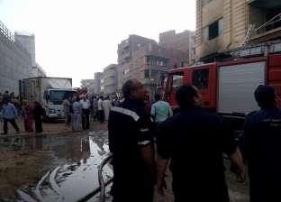 قوات الحماية المدنية تسيطر على حريق في عيادة بالدقي