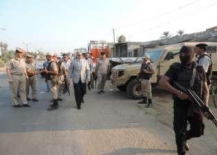 مدير الأمن يتفقد الأكمنة والتمركزات الأمنية للاطمئنان على جاهزيتها بالفيوم