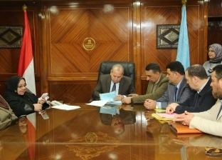 بالصور  محافظ كفر الشيخ يسلم 18 عقد تقنين أراضي أملاك الدولة