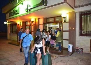 مطار مطروح يستقبل 276 سائحا إيطاليا
