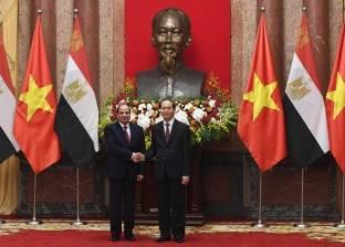اليوم.. قمة مصرية فيتنامية فى «الاتحادية»