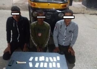 """القبض على 3 أشخاص سرقوا """"توك توك"""" تحت تهديد السلاح في أسيوط"""