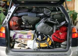 نصائح لحزم أمتعتك بسهولة وحرفيه داخل السيارة
