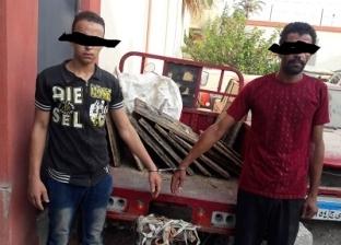 اعترافات لصوص أغطية «البالوعات» بالسويس: نبيعها لتجار «الخردة» بعلم المحافظة