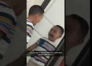 """مقطع فيديو يثير الجدل على """"تويتر"""".. طفل وظله يثيران الذعر"""