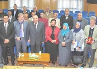 ختام المكون الأول لمشروع دعم الإصلاح الإداري بالمنيا