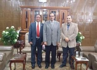 إعفاء طلاب الشيخ زويد ورفح من المصروفات الدراسية بجامعة العريش