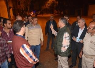 محافظ بني سويف يكافئ رئيس قرية لجهوده في مجال النظافة