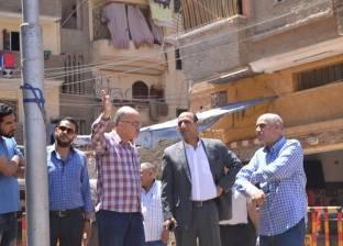 رئيس حي ثان المحلة: العمارة المائلة لها قرار إزالة