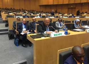 وزير الخارجية يشارك في اجتماعات المجلس التنفيذي للاتحاد الإفريقي