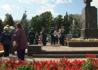 صور.. دفن المهندسين الروس الخمسة ضحايا الانفجار النووي