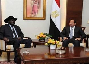 """""""السيسي"""" في اتصال مع """"كير"""": ندعم إحلال السلام بجنوب السودان"""