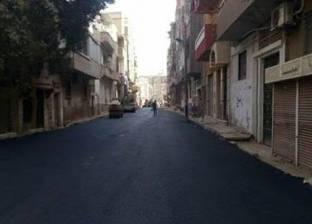 حملة لإزالة الحواجز الحديدية بشوارع عين شمس لتسيير الحركة المرورية