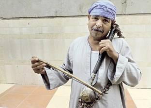 «سعيد» يمدح آل البيت: فى حب الرسول تركت الدنيا وجيت