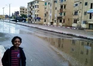 هطول أمطار على محافظة أسوان