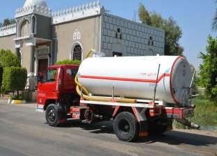 رئيس مدينة أشمون يكشف حقيقة إلقاء سيارة كسح مياه مجاري في النيل