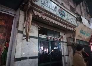 """إغلاق مقهى """"أسوان"""" في مصر الجديدة بالشمع الأحمر"""