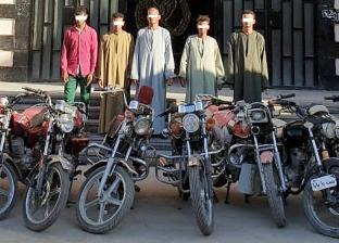 ضبط 4 عاطلين كونوا تشكيلا عصابيا لسرقة الدراجات النارية في المنيا