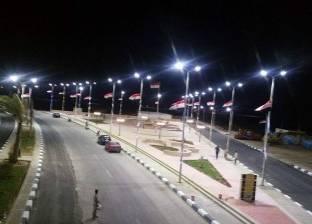 بالصور| مدينة الطور تتزين لاستقبال الزوار في احتفالات أعياد الربيع
