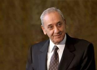 رئيس مجلس نواب لبنان يتلقى برقية تهنئة من السيسي بمناسبة عيد الفطر