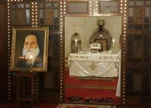 """دير أبو مقار يحيي الذكرى السنوية الأولى لـ""""أبيفانيوس"""""""